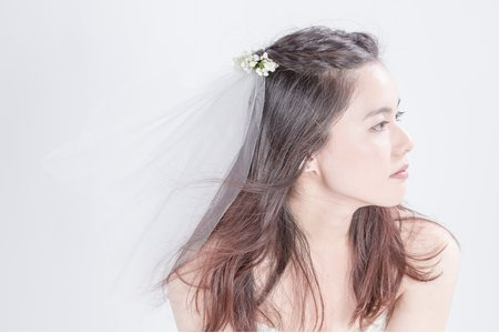 小清新甜美新娘