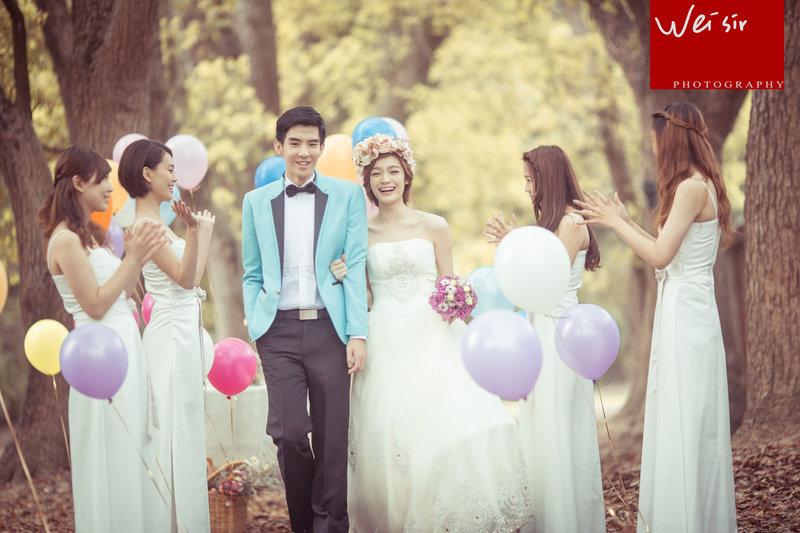 小資婚紗攝影作品