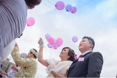 華山大草原 聯合婚禮 晚宴 臺北六福客棧