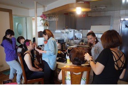 10人宴會妝髮通告