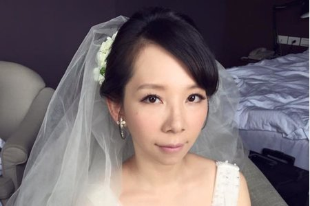 短髮新娘-小景