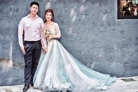 謦擧&紫丞 台北街頭婚紗