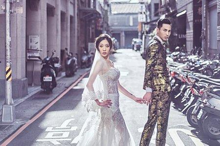 台北街頭時尚精品婚紗攝影