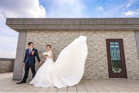 婚禮紀錄|建樺與逸玫|雲林.上禾宴會館