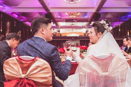婚禮紀錄 - 淡水萬熹大飯店 | 淡水禮拜堂 | 福容大飯店淡水漁人碼頭 - 芙蓉廳