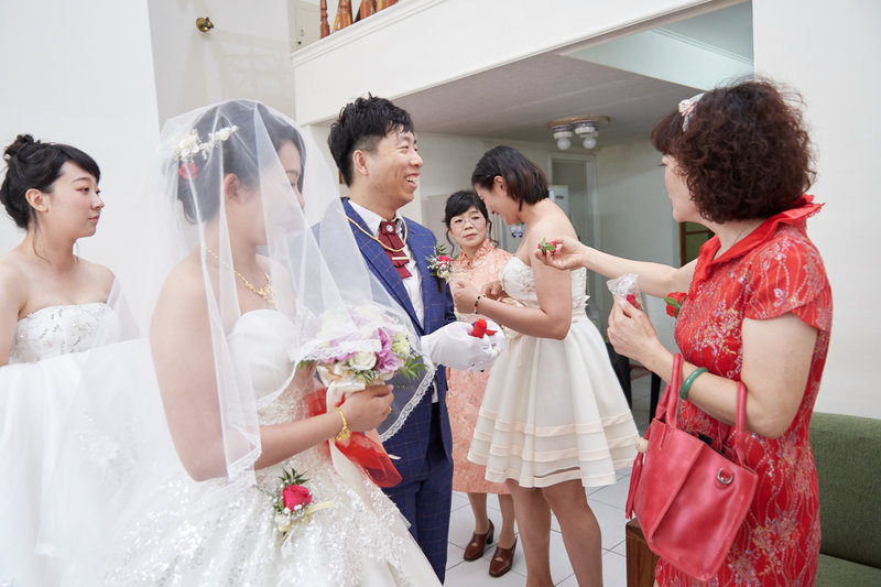 婚禮攝影-早儀午宴作品