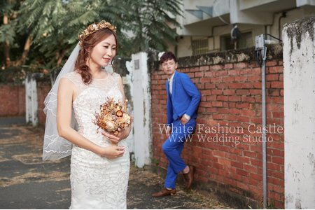White Fashion Castle 時尚自助婚紗