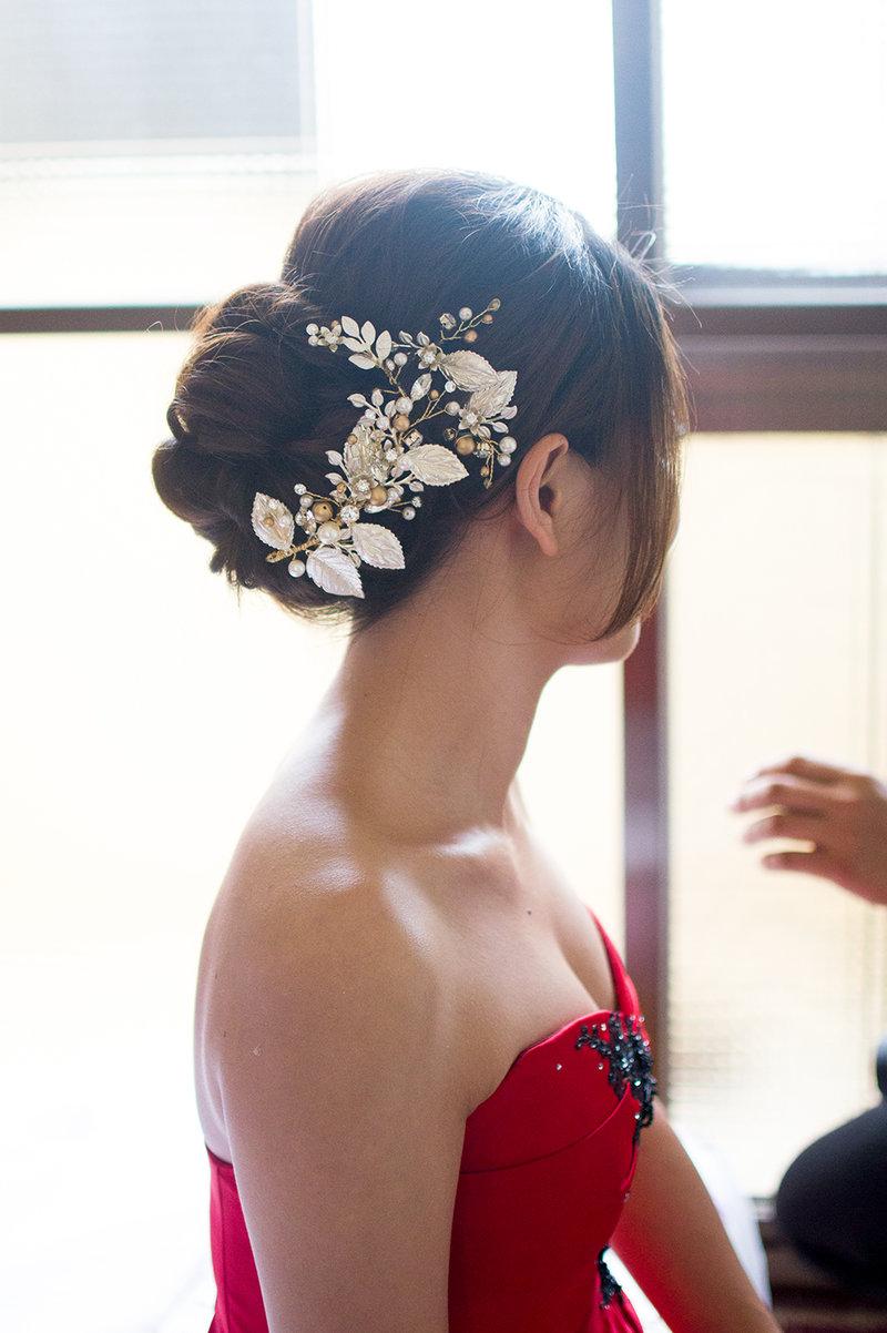 Winnie 細膩的新娘單妝作品