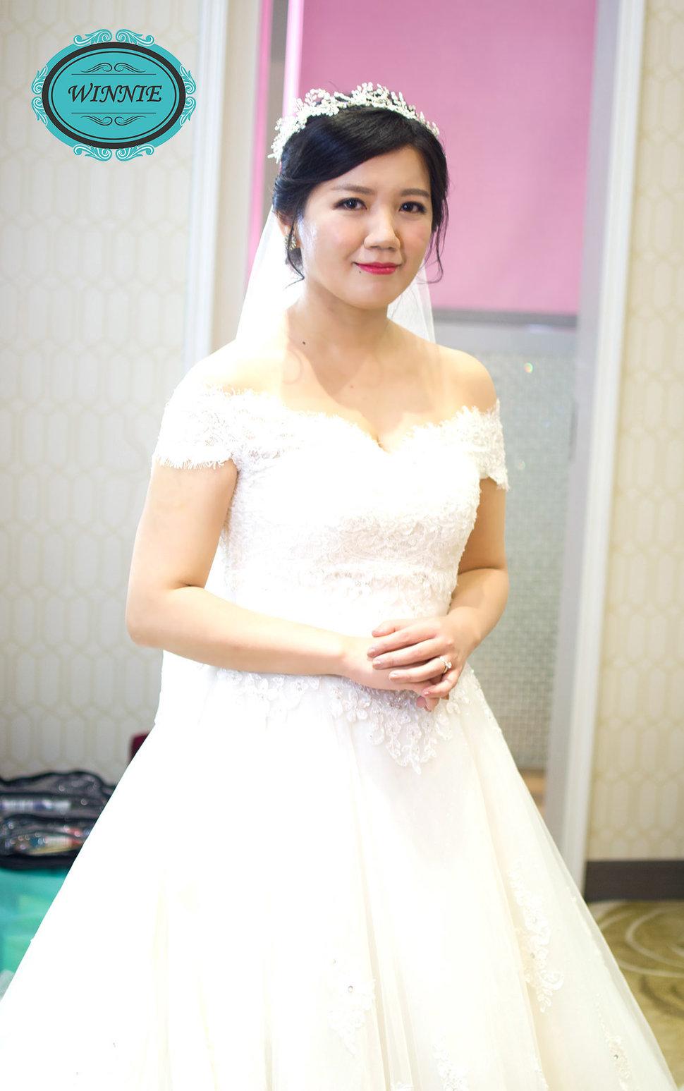 白紗精選造型(編號:509089) - Winnie白色時尚城堡新娘秘書《結婚吧》