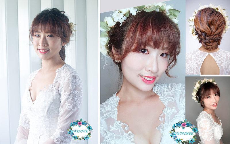 精緻妝髮~訂結同天4套造型新娘秘書作品