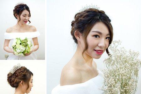 新娘唯美整體造型