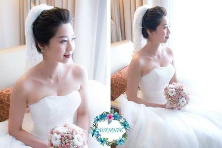 韓風白紗造型(台南長榮酒店)