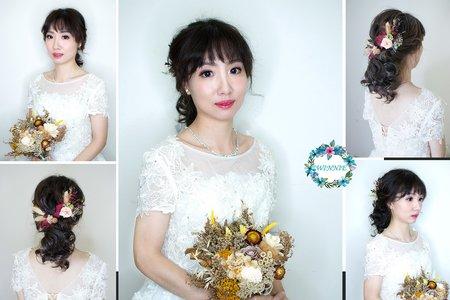 韓系花飾造型