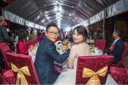 彥蓉的韓式結婚造型