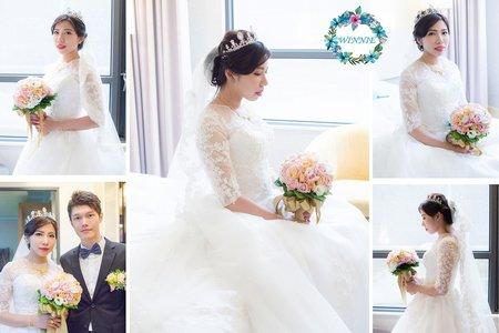BRIDE白紗造型-佳儒