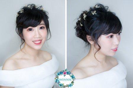 雜誌新娘造型