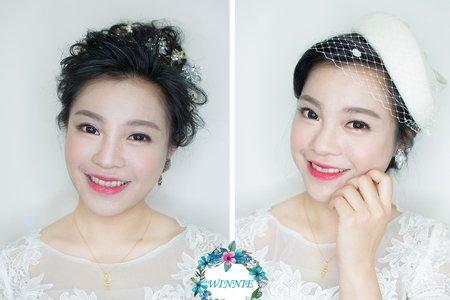 韓式婚紗造型