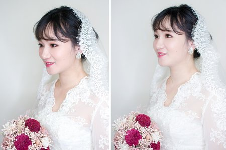 浪漫的韓系造型