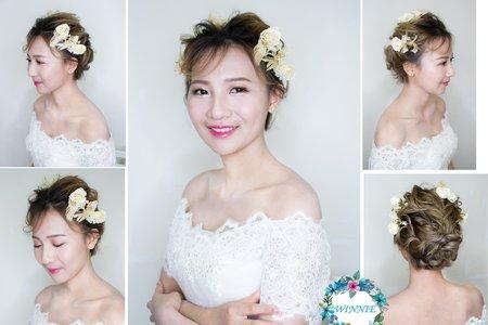 Winnie新娘造型