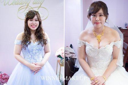 浪漫氣質婚宴新娘