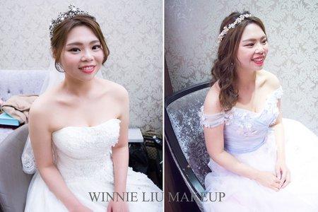 開朗感性的可愛新娘