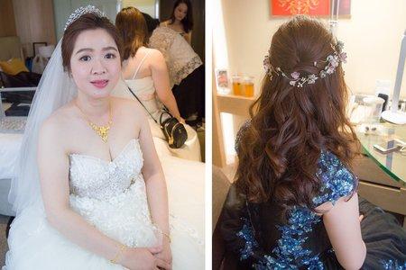 喜歡自然簡約的新娘