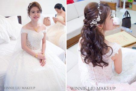 甜甜迷人的幸福新娘