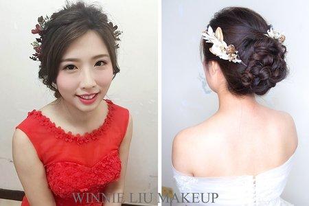 滿意驚豔的新娘