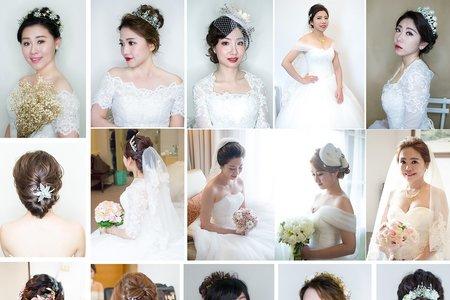 婚宴新娘髮型