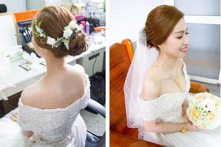 混血精緻裝容的新娘(嘉義婚宴)