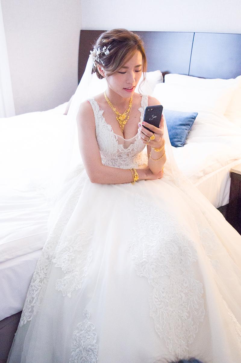 1081103-5 - Winnie白色時尚城堡新娘秘書《結婚吧》