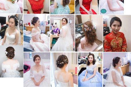 Winnie 細膩的新娘單妝