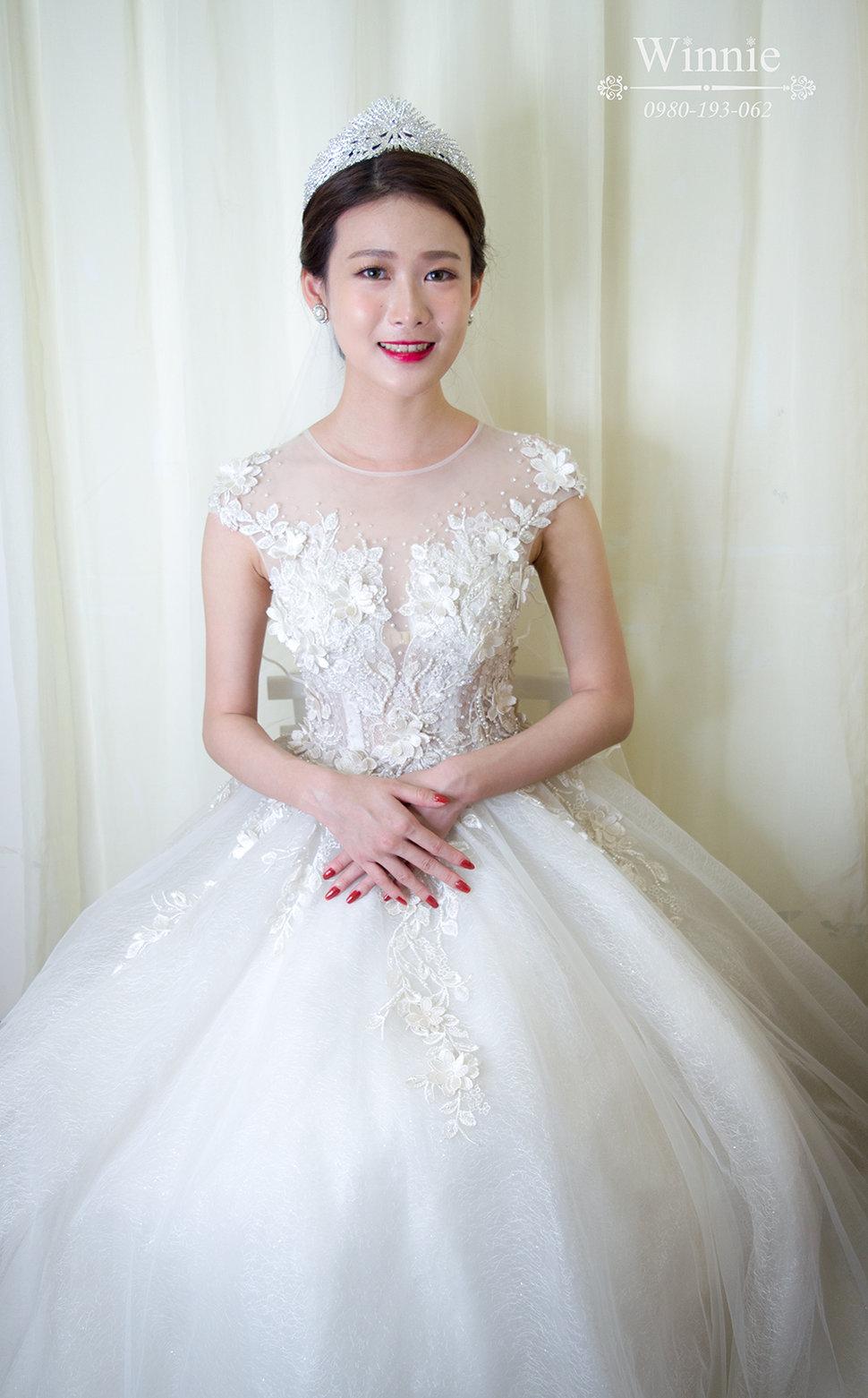 1030303-1 - Winnie白色時尚城堡新娘秘書《結婚吧》