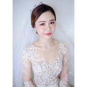 Winnie LIU白色時尚城堡新娘秘書
