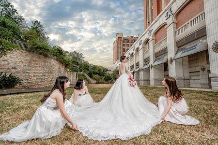 台中婚攝 ▎結婚紀錄+晚宴☆宗磊+雅婷 ▎台中/葳格國際會議中心(韓國廳) @婚攝桃子先生