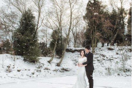 J ღ N.自主婚紗.雪景婚紗