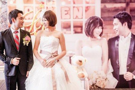 2014.12.27 柏峰 約靜  台中新天地 結婚晚宴