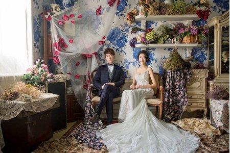 結婚包套、宴客禮服、主題片場拍攝