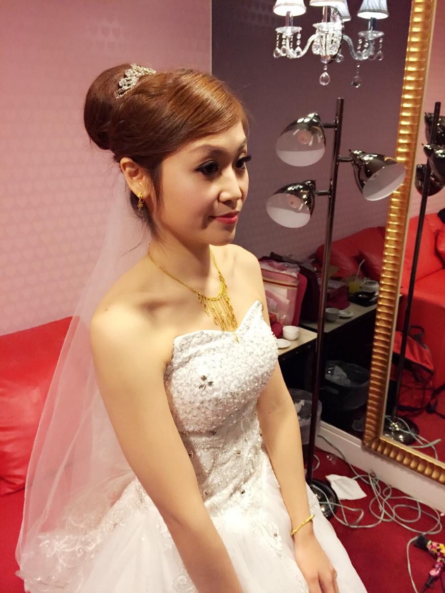 Tracy結婚午宴(編號:540228) - 吳若禎 Una 彩妝整體造型《結婚吧》