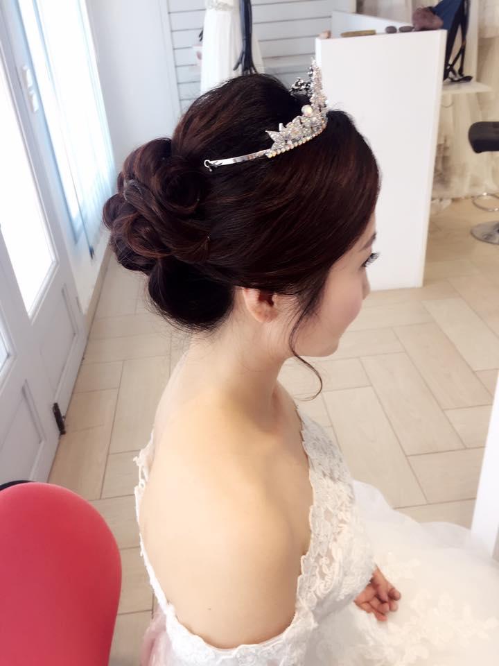 19510442_1569653366419600_8636049403473619927_n - 吳若禎 Una 彩妝整體造型《結婚吧》