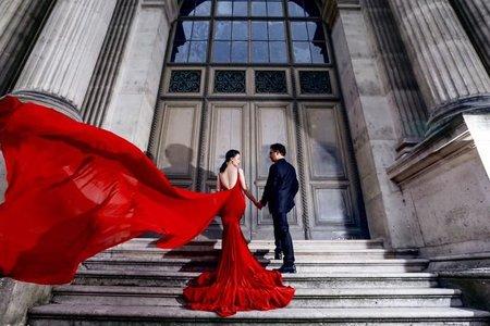 吳若禎Una彩妝整體造型 法國巴黎旅拍