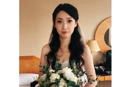 素雅歐美風新娘