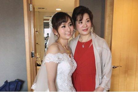 日系美女新娘