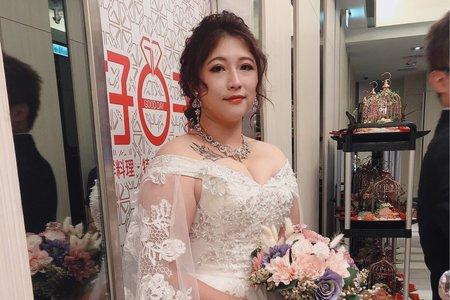浪漫華麗白紗造型