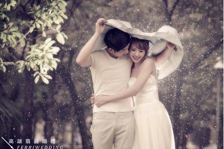 高雄翡麗婚禮【婚紗攝影】幸福當下