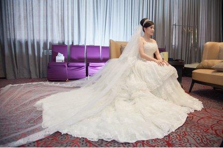 中和華漾大飯店迎娶