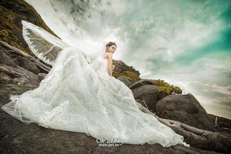 淡水創意個性婚紗