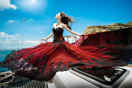 J ART攝影團隊 / 創意遊艇婚紗