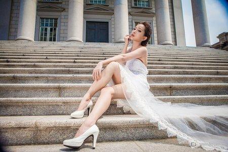 創意歐式婚紗