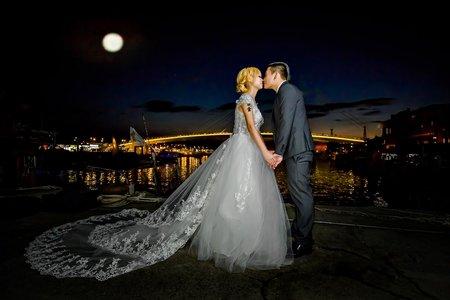 漁人碼頭浪漫婚紗